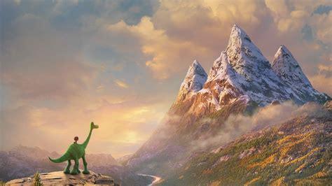 wallpaper  good dinosaur pixar animation movies