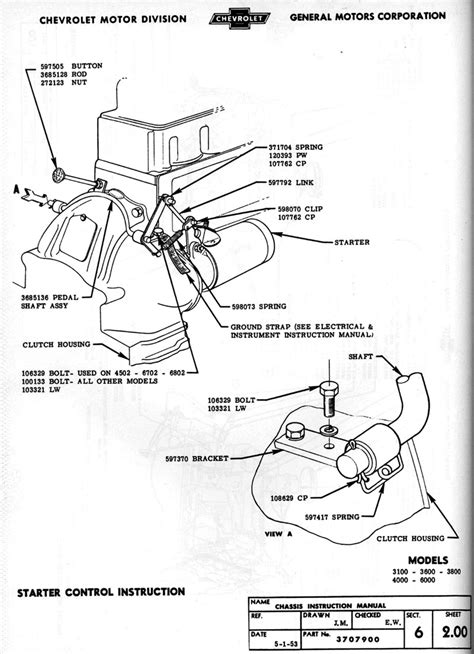 Chevy Wiring Diagram Images