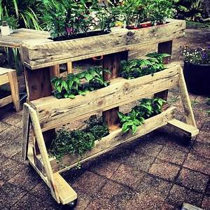 DIY Pallet Planter - Home Decor Ideas Ideas with Pallets