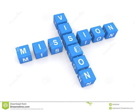 mission  vision stock illustration image  cross