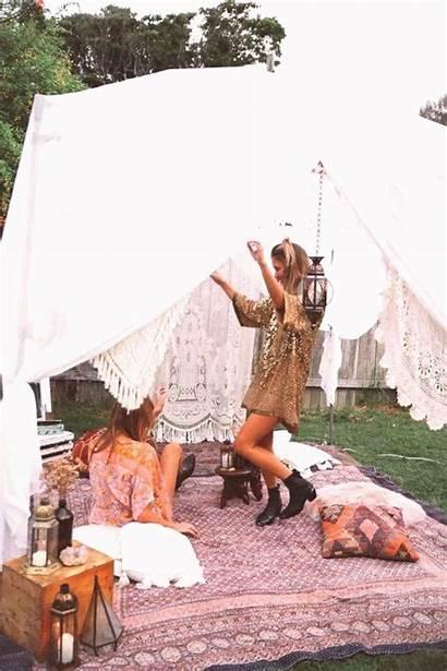 Camping Gypsy Bohemian Glamping Tent Best10en Backyard