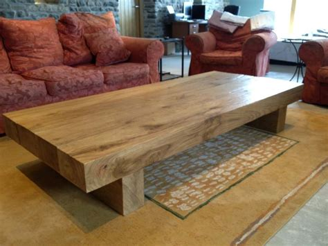 extra large coffee table large oak coffee table abacus tables