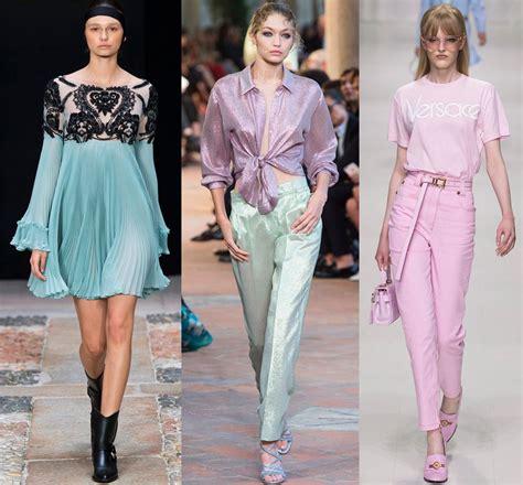 Модные тенденции в моде осень-зима 2018