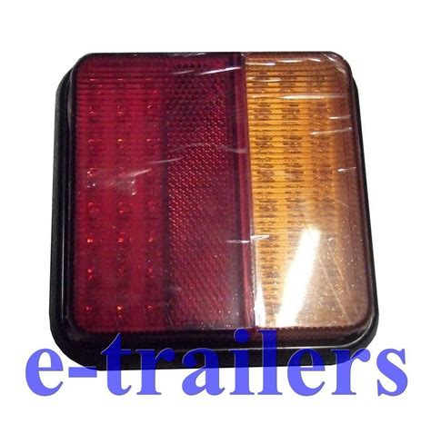 led multi function rear trailer lights 48 leds 10 30v