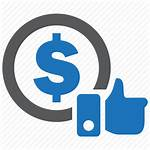 Cost Impression Icon Business Pay Icons Marketing