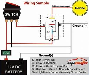 Best 12v Relay Wiring Diagram Pin At Switch 5 How To Wire