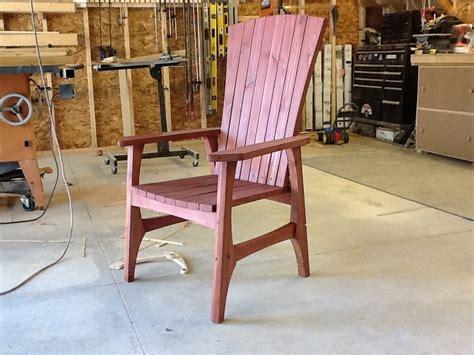 building an outdoor chair lawn chair part 1