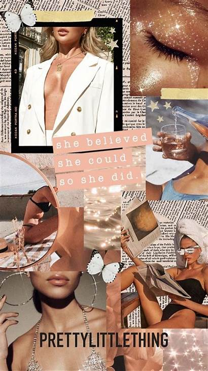 Collage Tan Aesthetic Iphone Wallpapers Beige Backgrounds