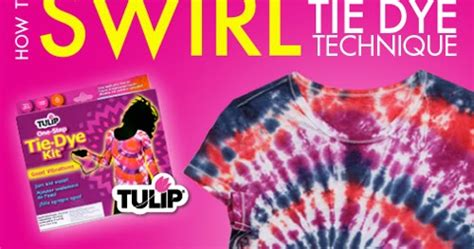 ilovetocreate blog   swirl tie dye technique