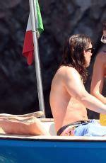 DUA LIPA in Bikini on Holiday in Capri 08/26/2017 – HawtCelebs