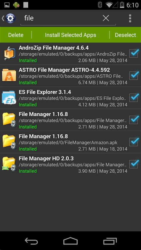 installer pro install apk android apps play
