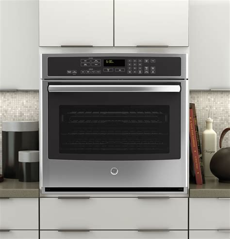 ge profile series  built  single convection wall ovenptsfss convection wall oven