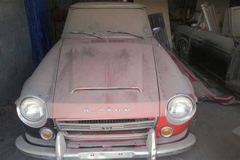 Datsun 2000 Parts by Stored 15 Years 1969 Datsun Roadster