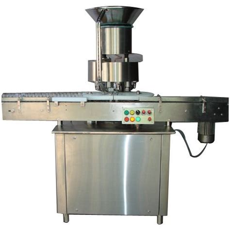 electric automatic single head vial cap sealing machine  hp  rs  unit id