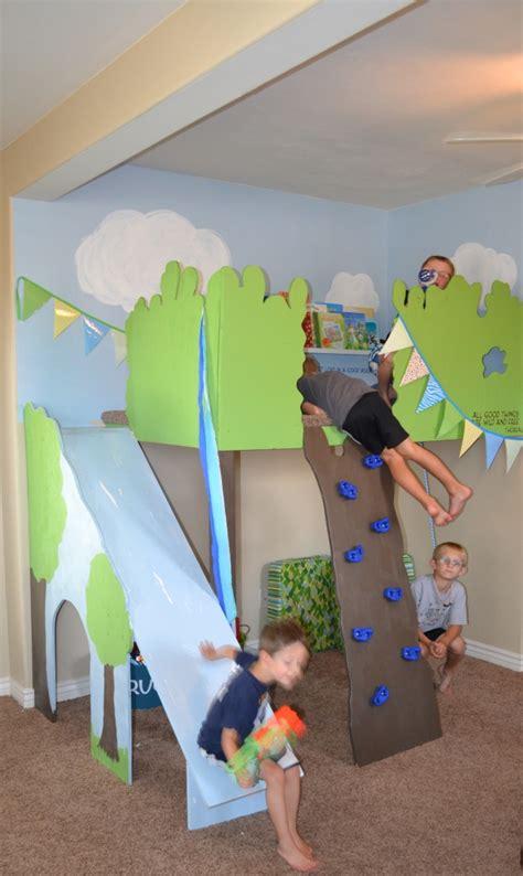 magic indoor treehouse sawdust girl