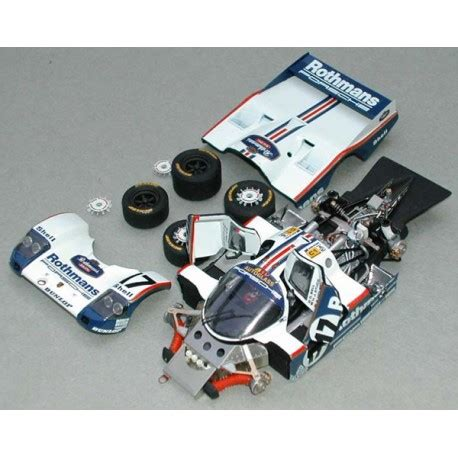 As the 962 was introduced at the end of 1984, and it won the 1000 kms spa in 1986. 1/43 Porsche 962 C Rothmans Le Mans 1987 Profil 24 ...