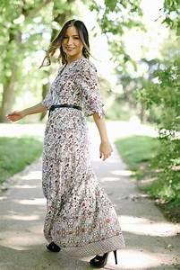 Robe Longue Style Boheme : the perfect long dress la minute fashion ~ Dallasstarsshop.com Idées de Décoration