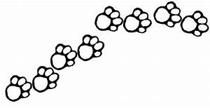 Paw Print Outline Clip Art - Cliparts.co