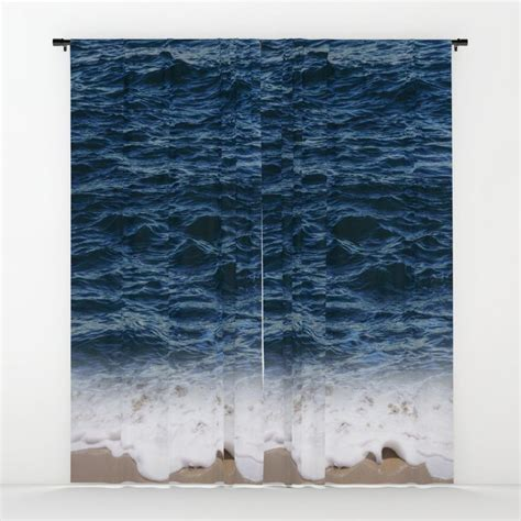 ocean window curtain blackout curtain sheer curtain