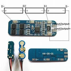 Details About 1pc 3s 18650 Li