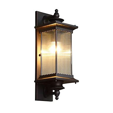 qingming 174 waterproof style retro country flush mount wall lights outdoor wall lights