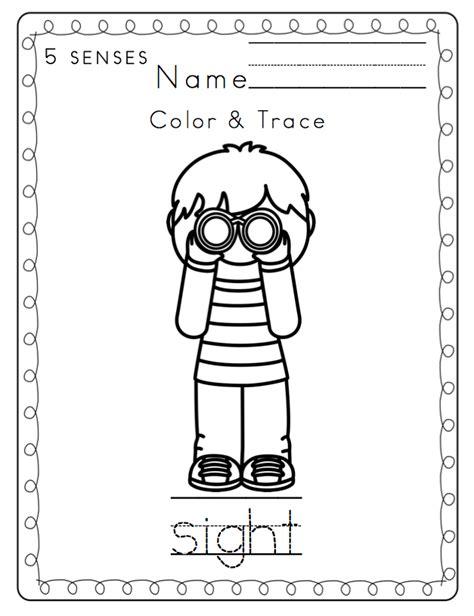 toddler 5 senses printable preschool printables 119 | 2