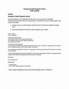 credit card dispute letter sample credit repair secrets With credit repair letters