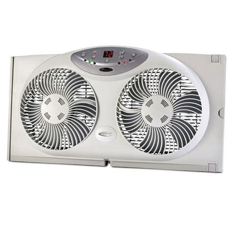 best air fans the best low profile window fan hammacher schlemmer
