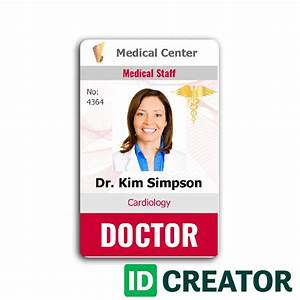 doctor id call 1855make ids with questions With dr name tag template
