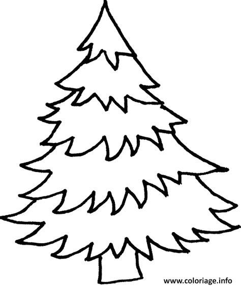 coloriage de sapin de noel a imprimer gratuit coloriage dessin d un sapin dessin