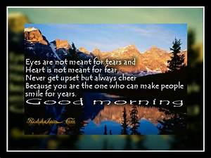 Wish you a Good... Morning Mountain Quotes