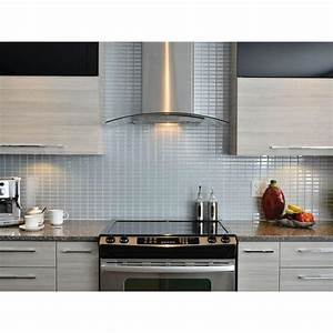 Smart tiles stainless 10625 in w x 1000 in h peel and for Smart tiles backsplash review