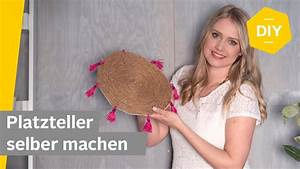 Platzteller Selber Machen : diy platzteller im boho look selber machen roombeez powered by otto youtube ~ Markanthonyermac.com Haus und Dekorationen