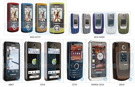 leaked  bunch  upcoming  samsung phones