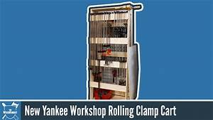 How To Make A Rolling Clamp Rack (New Yankee Workshop