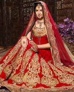 Indian wedding dresses 22 latest dresses to look like a diva for Red indian wedding dress