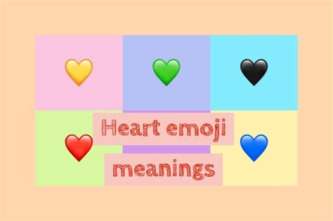 What Are Heart Emoji Meanings?