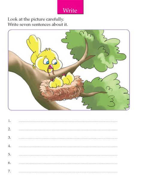 grade 2 picture composition composition writing skill