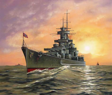 fotos von german battleship gneisenau schiffe gezeichnet heer