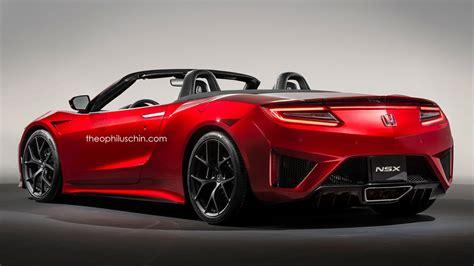 2016 acura nsx convertible honda nsx convertible gets rendered forcegt com