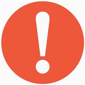 Alert, attention, danger, error, exclamation, problem ...