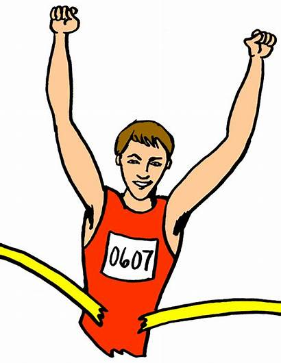 Sports Runner Leisure Clip Clipart Win Perfect