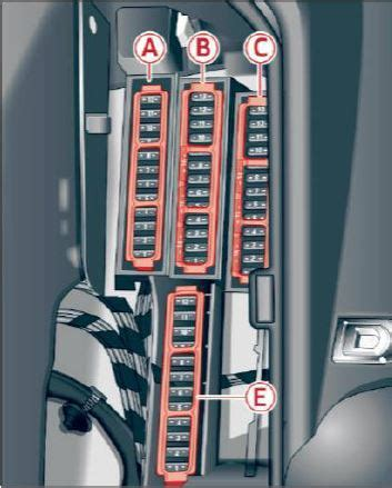 How To Open Audi Fuse Box by Audi A5 F5 2016 Fuse Box Location And Fuses List