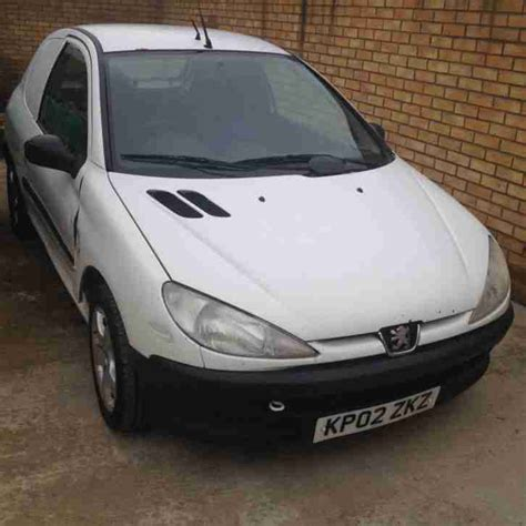 Peugeot 206 Hdi Car Derived Van For Sale, Spares And