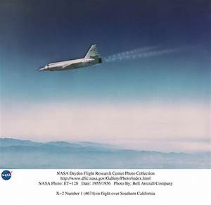 NASA Dryden X-2 Aircraft Photo Collection