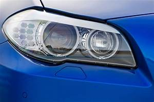 2013 Monte Carlo Blue Metallic Bmw M5 Headlight