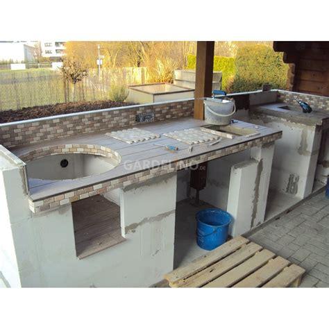 Gasgrill Outdoor Küche by Outdoor K 252 Che Gemauert Kleinster Mobiler Gasgrill