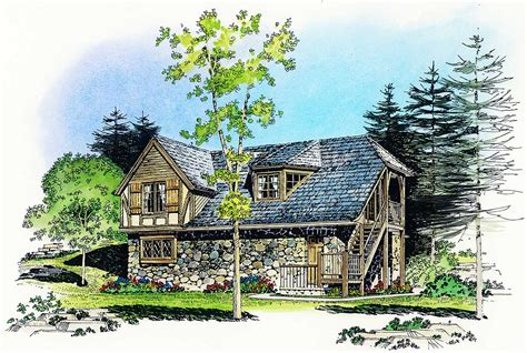 rustic carriage house plan pf architectural