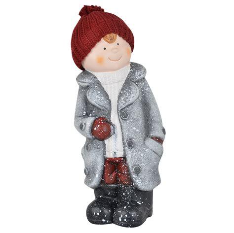 ceramic christmas collectible boygirl figurines indoor