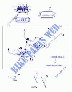 Electricite  Main Wire Harness A16sea57a1  3  7  8  9  L3  L7  L8
